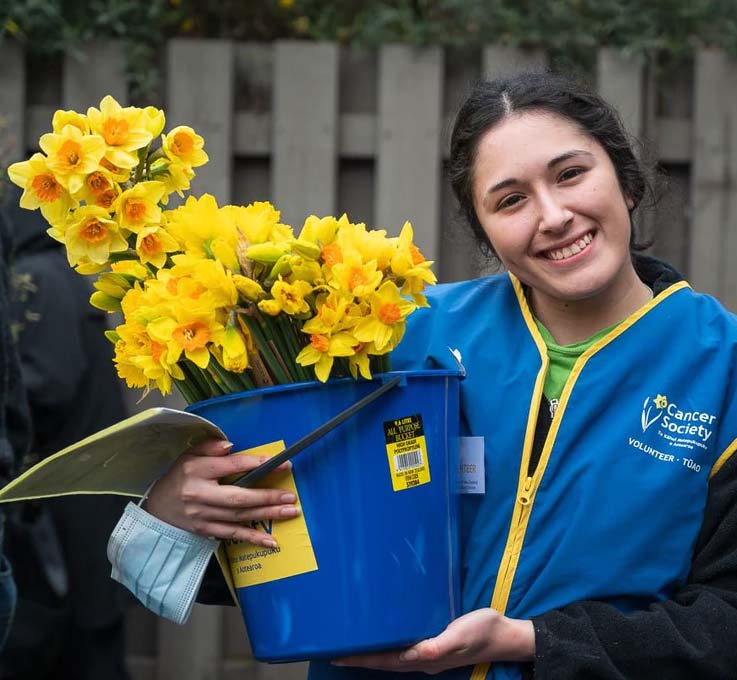 daffodils for daffodil day auckland