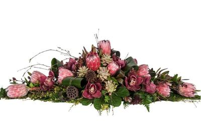Casket Sprays - Funeral Flowers Auckland - Best Blooms