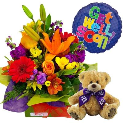 Send Get well flowers & gifts auckland