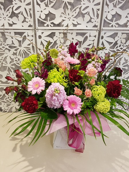 Testimonial for Prettiest Pink Flower Bouquet