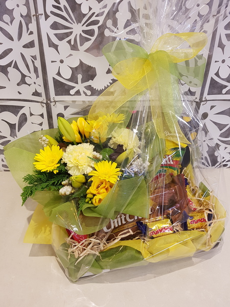 Testimonial for Bright Flowers and Chocolate Treats
