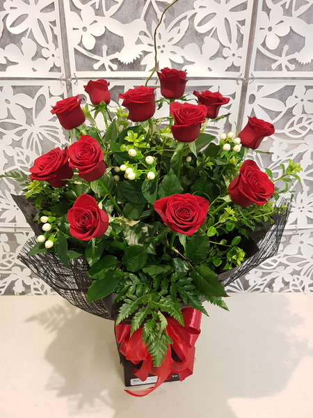 Testimonial Photo for One Dozen Red Roses - Free Delivery