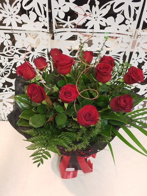 Testimonial for One Dozen Red Roses - Free Delivery