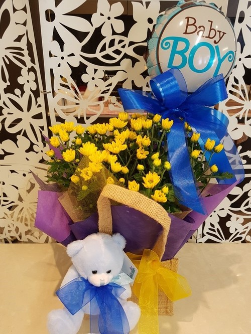 Testimonial for Baby Plant Gift Basket