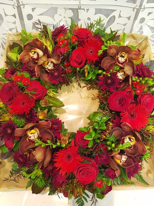 Testimonial for Red Wreath of Love