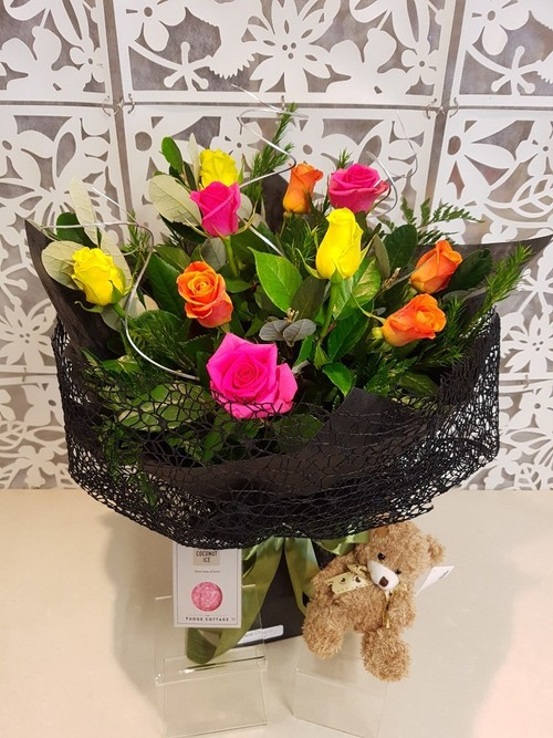 Testimonial for Coloured Roses Vox Bouquet