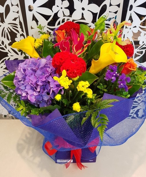 Testimonial for Bright Vox Bouquet