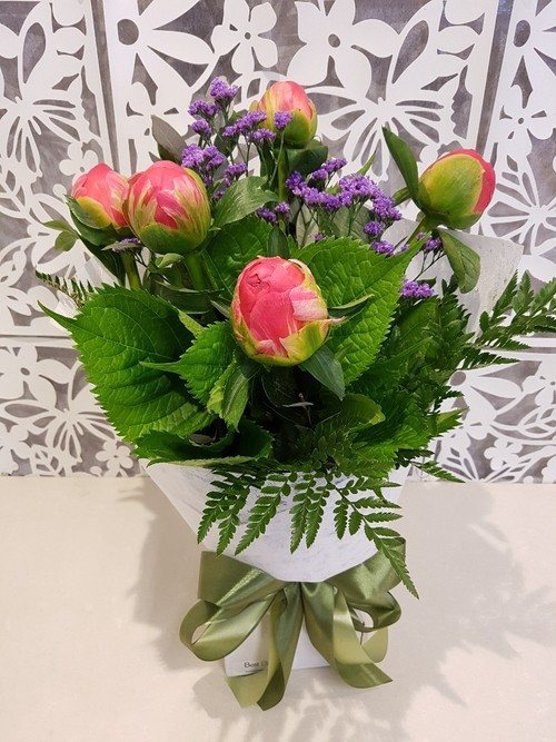 Testimonial for Peony Bouquet