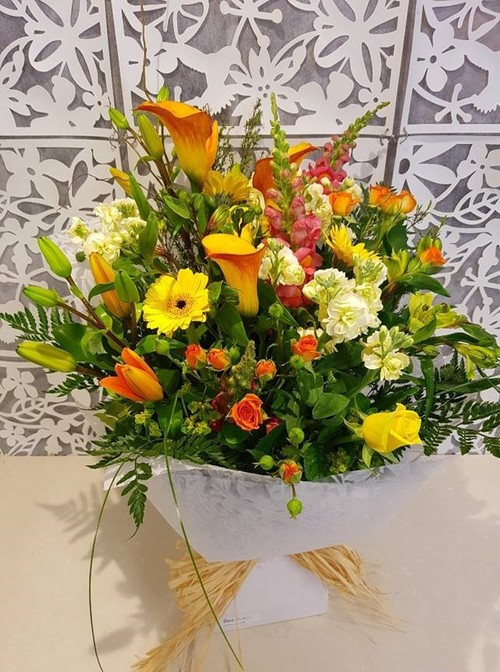 Testimonial for Summer Country Flower Bouquet