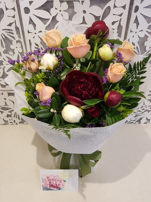 Testimonial for Peonies and Roses