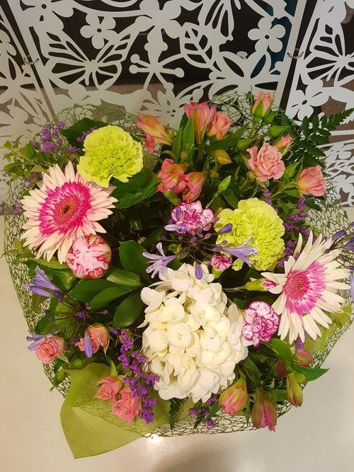 Testimonial for Florist's Choice - Fresh Today - FREE DELIVERY