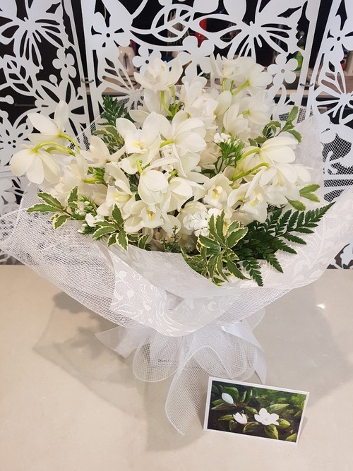 Testimonial for Ballerina Orchid Bouquet