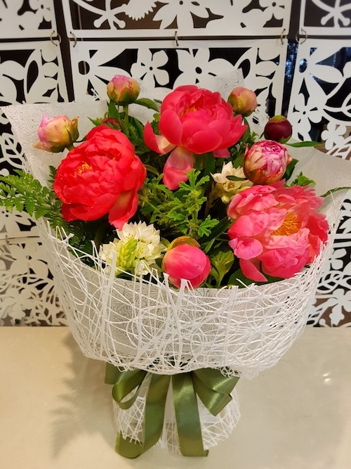 Testimonial for Large Lush Peony Bouquet