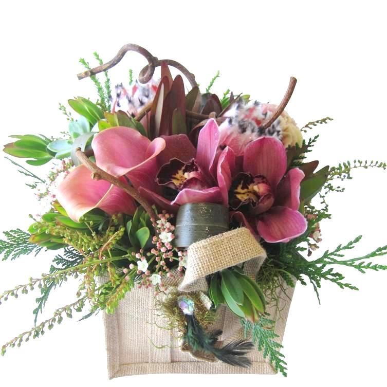 N.Z. style flower arrangement