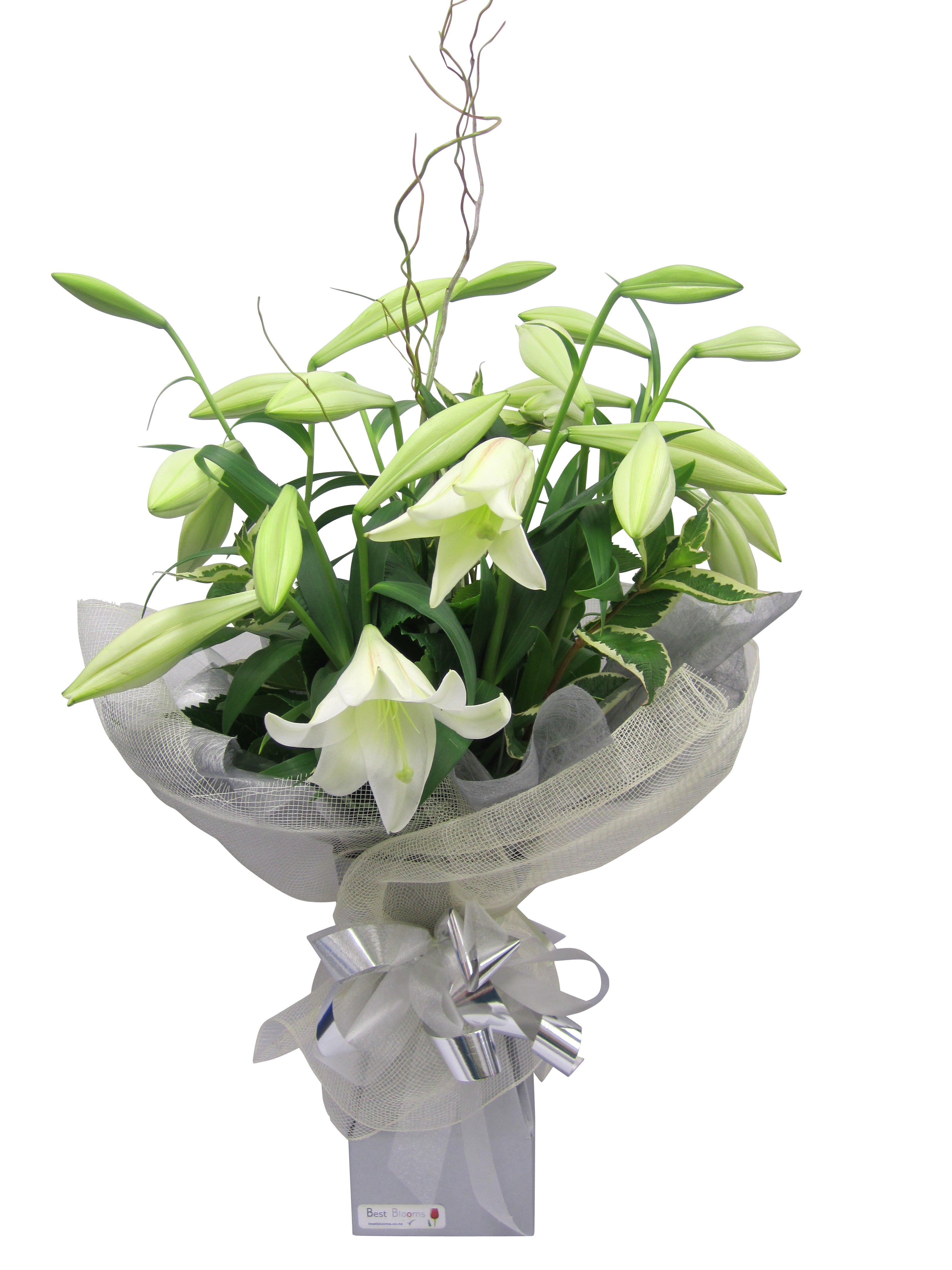 Bouquet of Christmas Lillies