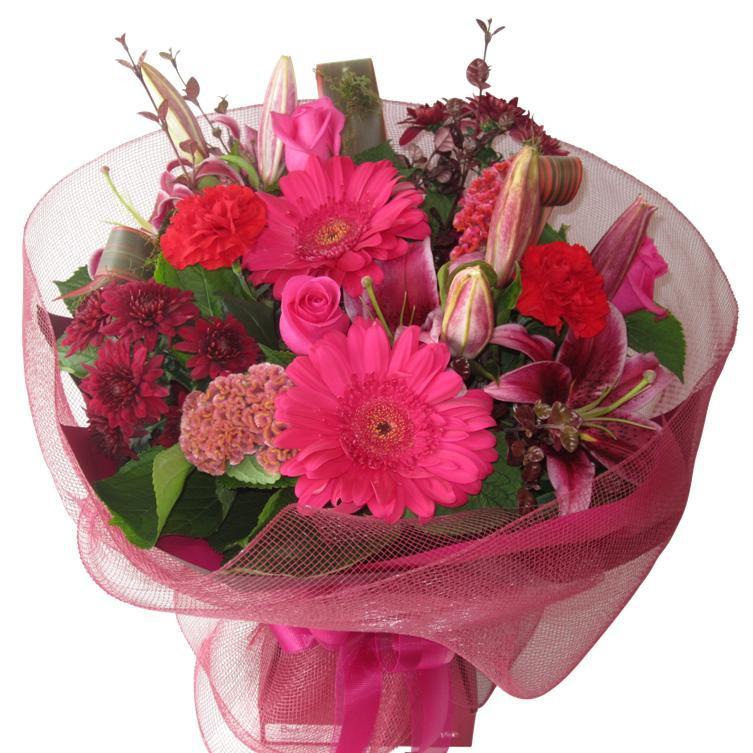 Romantic Flower Bouquet Auckland
